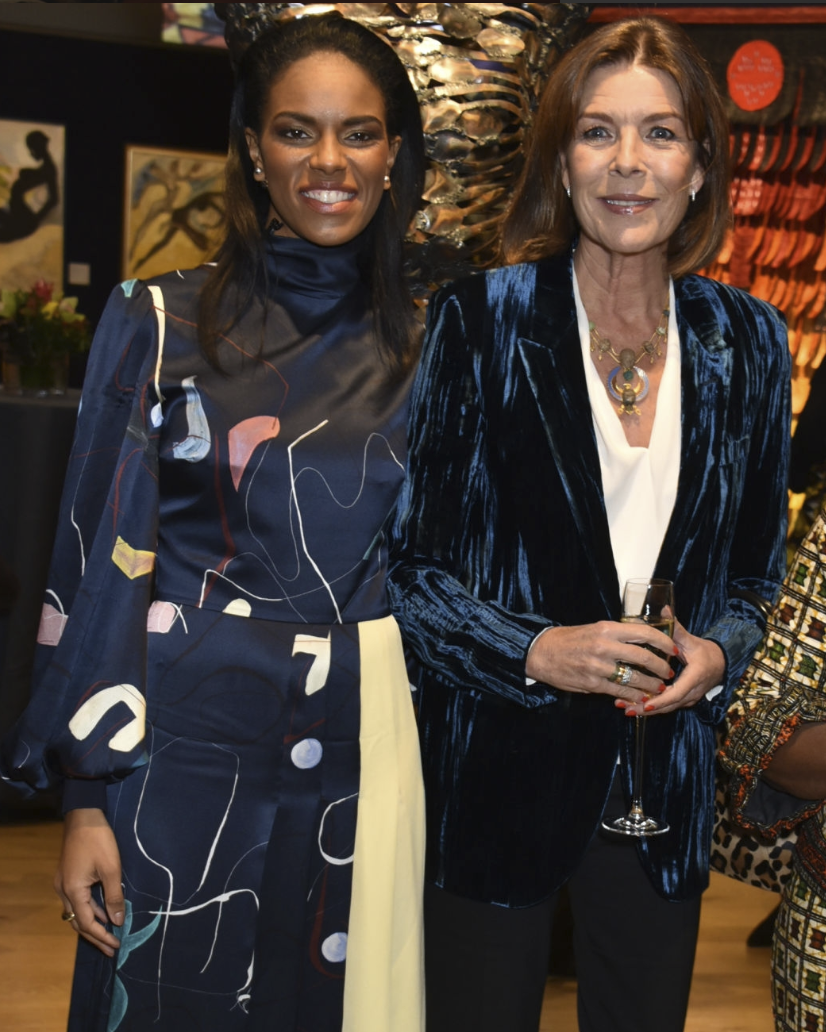Bonhams Celebrates Art The Democratic Republic of Congo with Caroline, Princess of Hanover