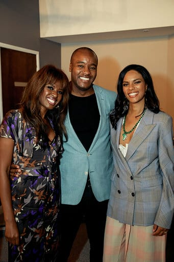 with June Sarpong and Ronald Ndoro Mind at the opening of the Arborterum Members Club June 2019