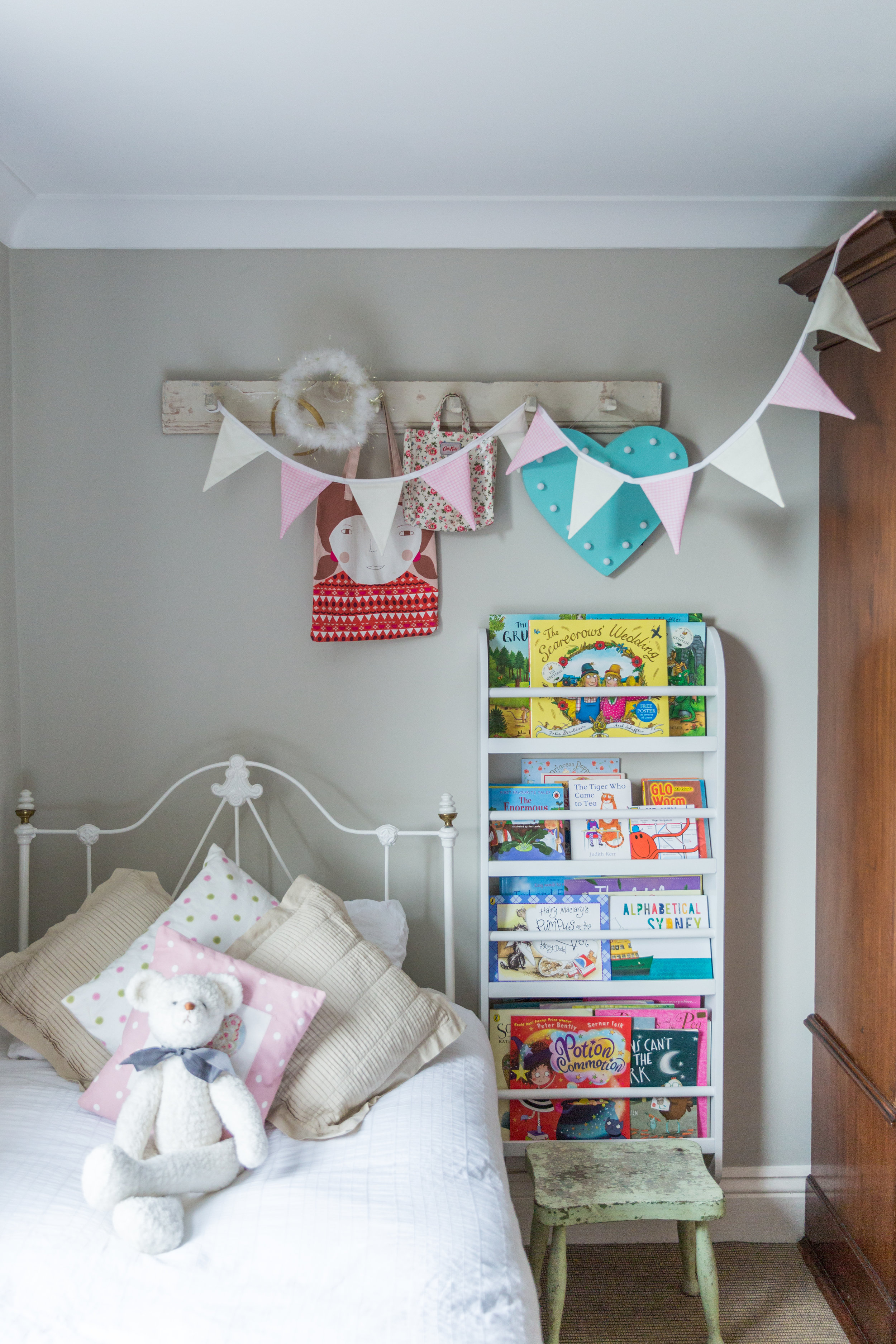 Light and bright child's bedroom