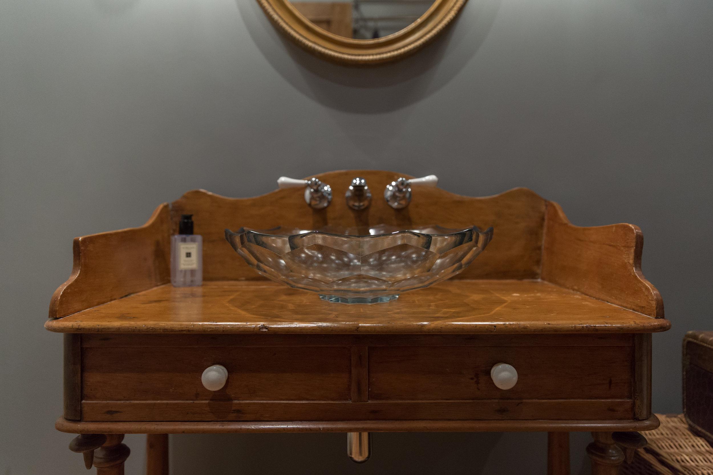 Repurposed Antique Washstand