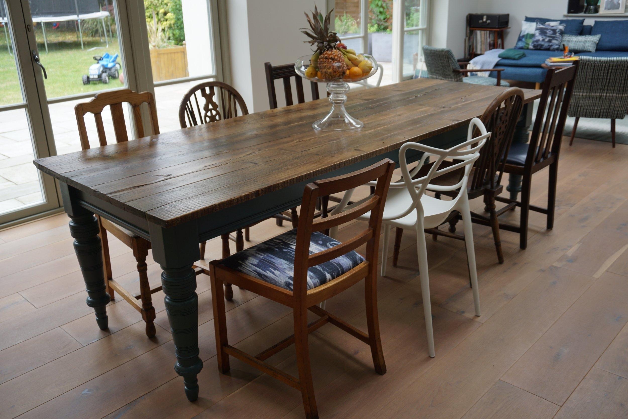 Bespoke Reclaimed Dining Table