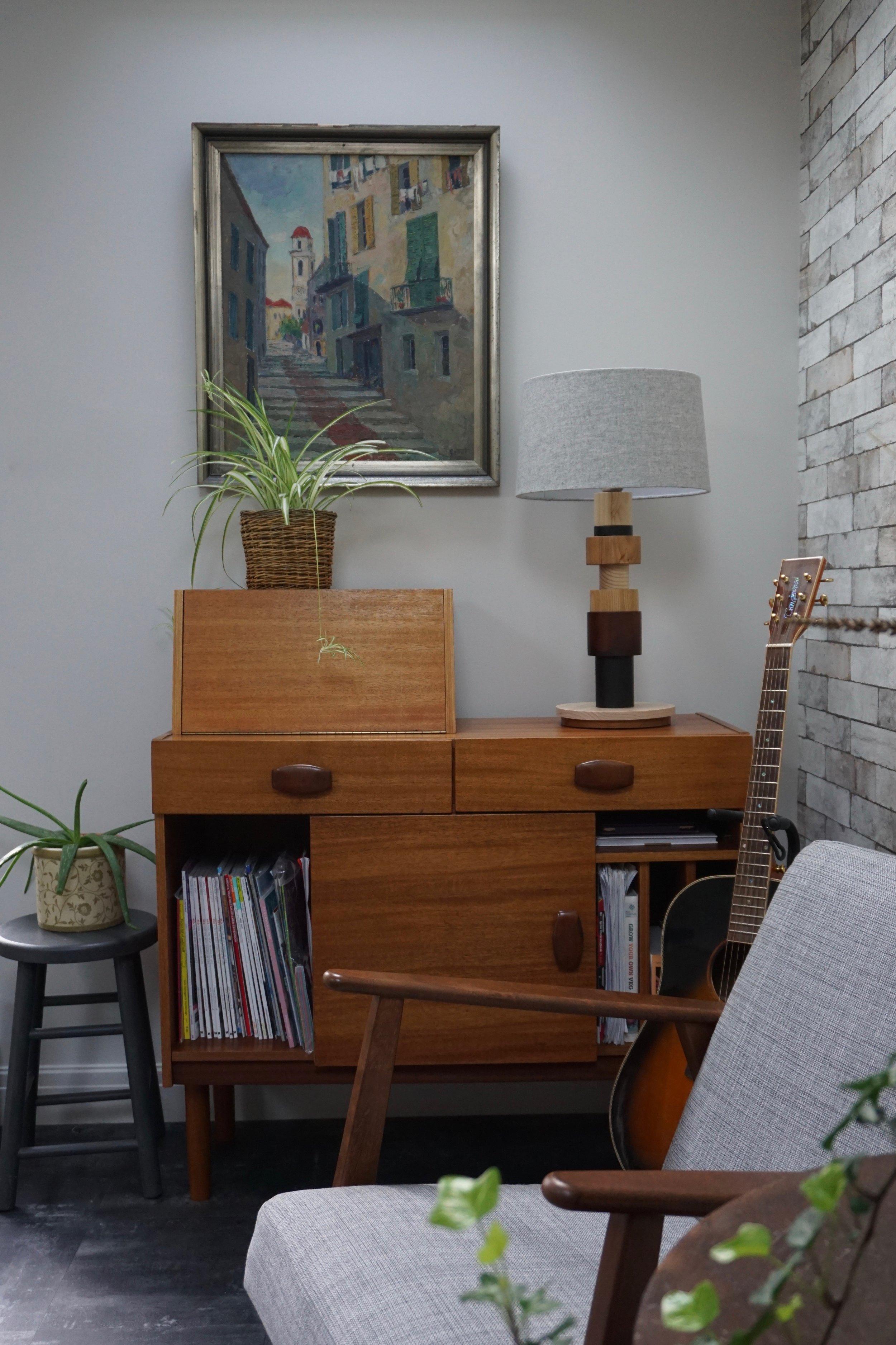 Midcentury teak sideboard