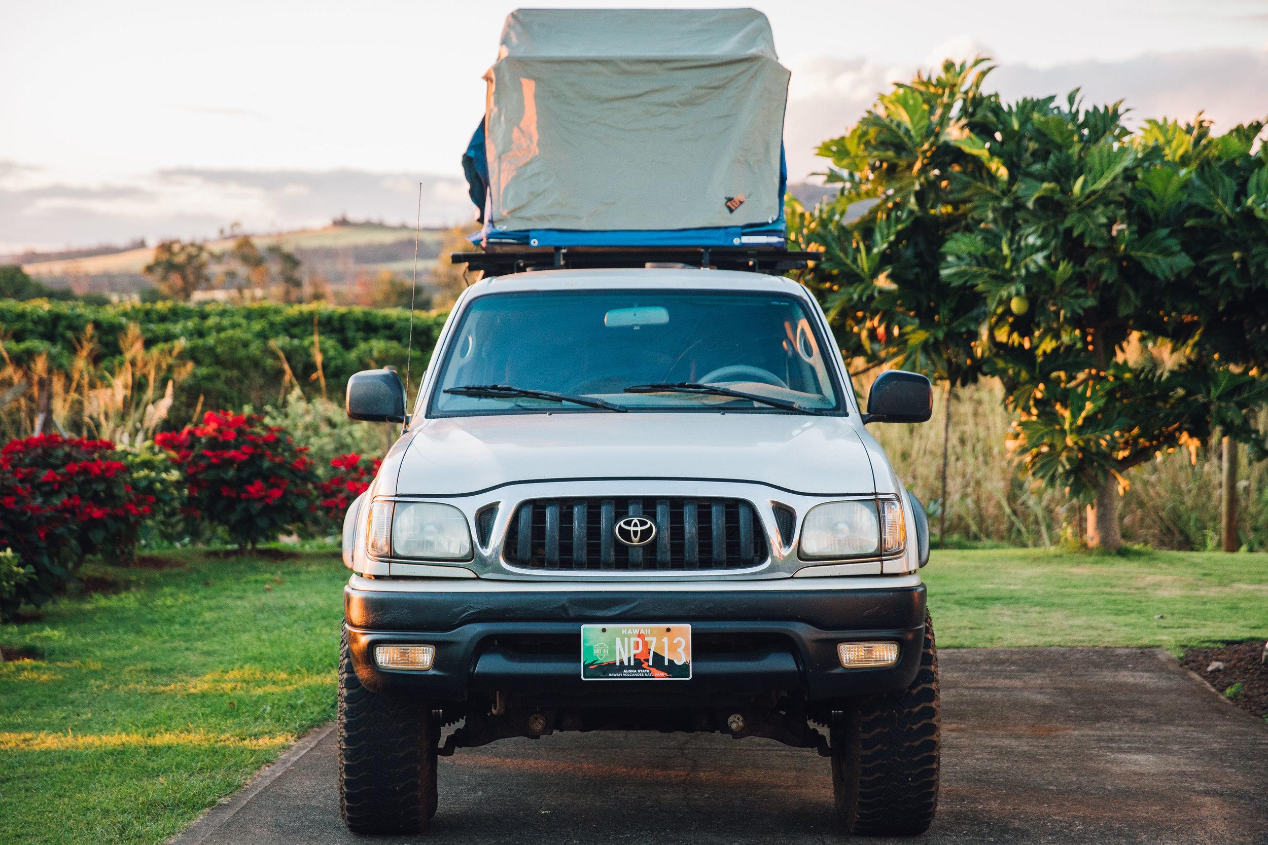 Vehicle Build Blog Kauai Overlander