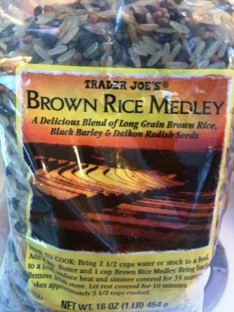 brown rice medley TJ