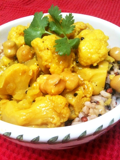 Cauliflower curry2
