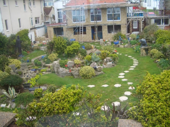 A Garden outside Brighton '06