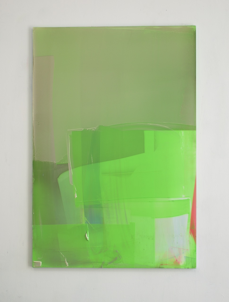 Untitled Green Composition, for John, 2016, 110x75cm.jpg