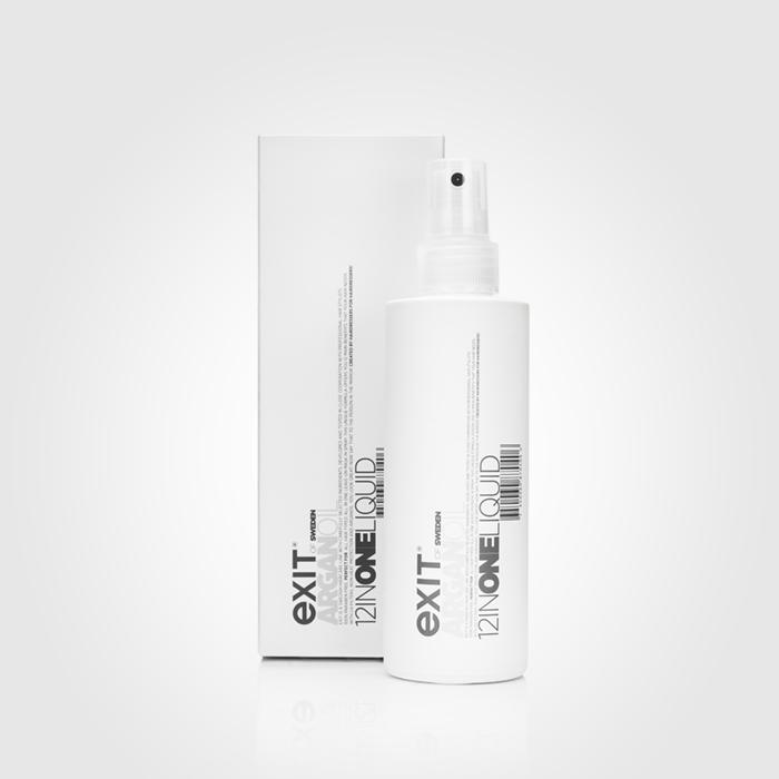 En leave-in produkt i sprayform med 12 fördelaktiga egenskaper. Innehåller arganolja. Spraya direkt i fuktigt hår och skölj ej ur.