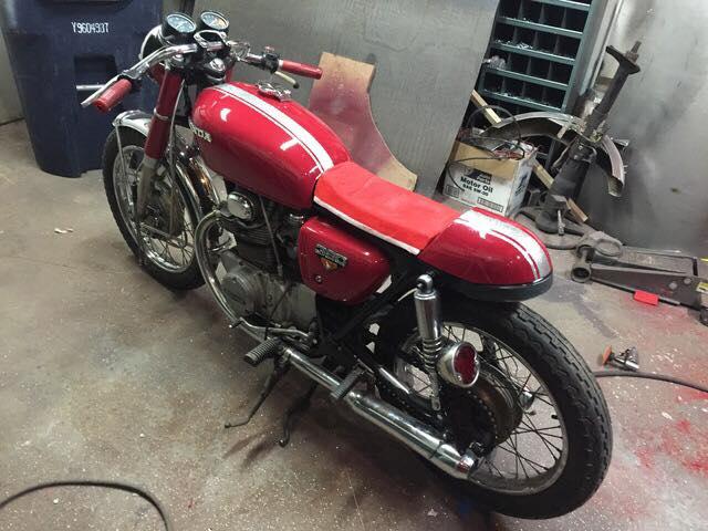 1972 Honda CB350 Café - $2,900 OBO | Nashua, NH