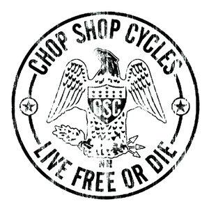 chop shop cycles milford new hampshire logo