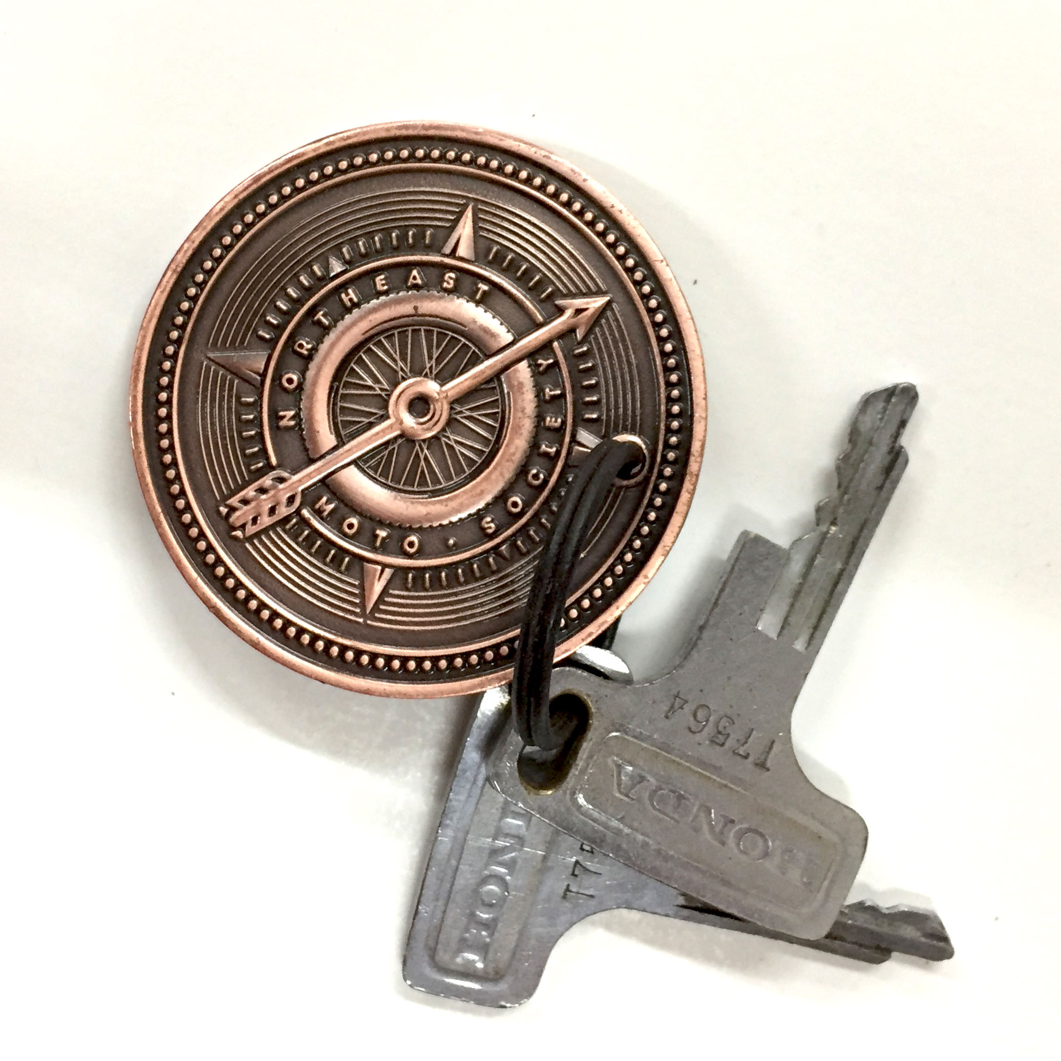 Keychain- NEMS 2017 Membership Coin