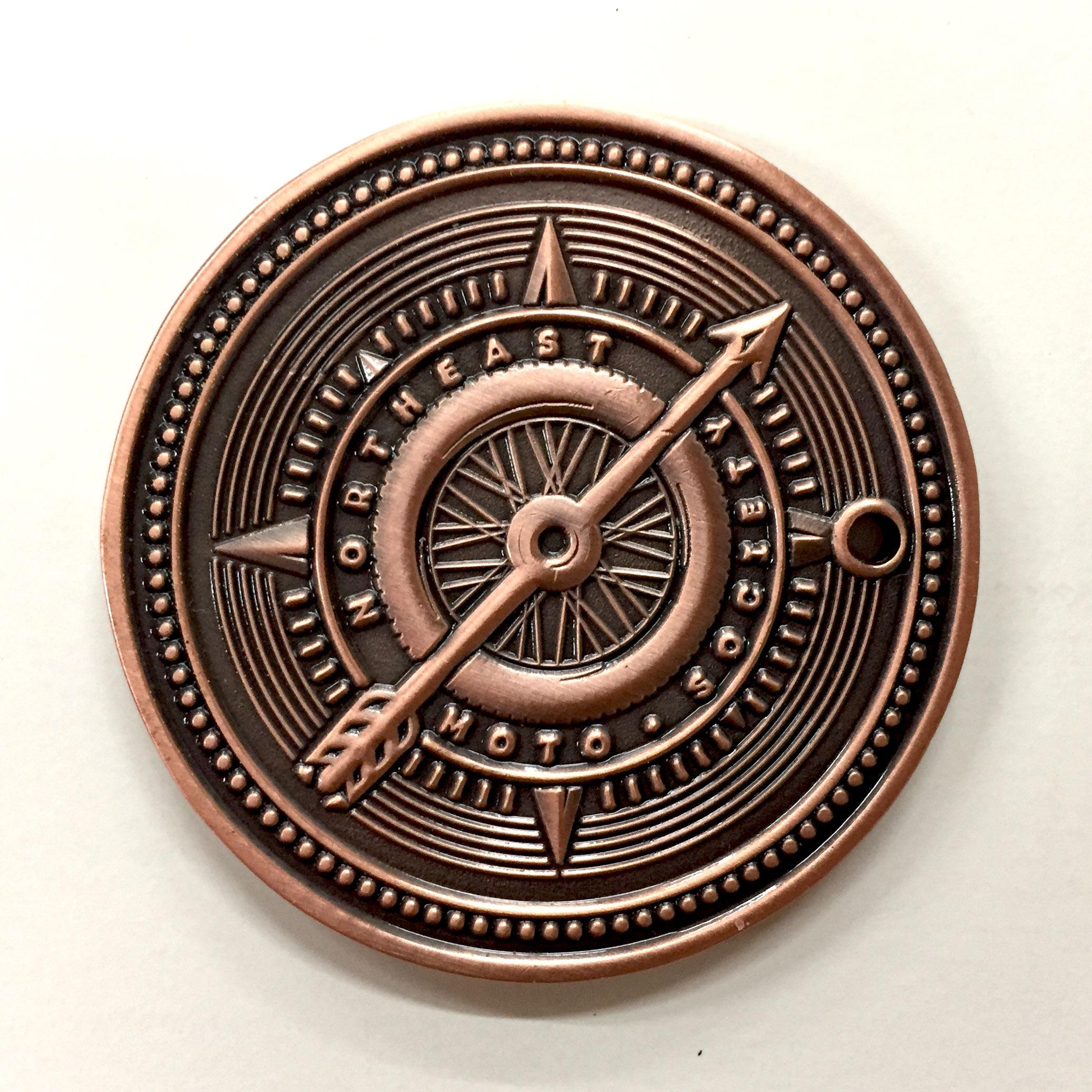 Tail - NEMS 2017 Membership Coin