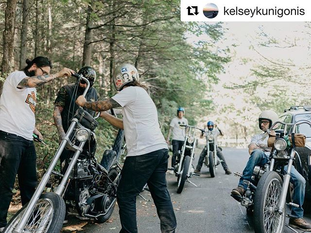 Patiently waiting for spring here in the northeast.  I'd say Soon but 15 inches of snow in the forecast isn't helping our winter blues.  @kelseykunigonis , with the awesome 📸 #Repost @kelseykunigonis with @repostapp ・・・ Ready for summer.  #chopper #choppershit #lowbrowcustoms #deadbeatcustoms #xlch #ironhead #chopcult #ironandair #lfod #livefreeordie #bobber #sporty #xlch #motorcycle #2wheels #lifebehindbars #instamoto #hd #harleydavidson #bsa #indian #custombike #kustomkulture #northeastmotosociety