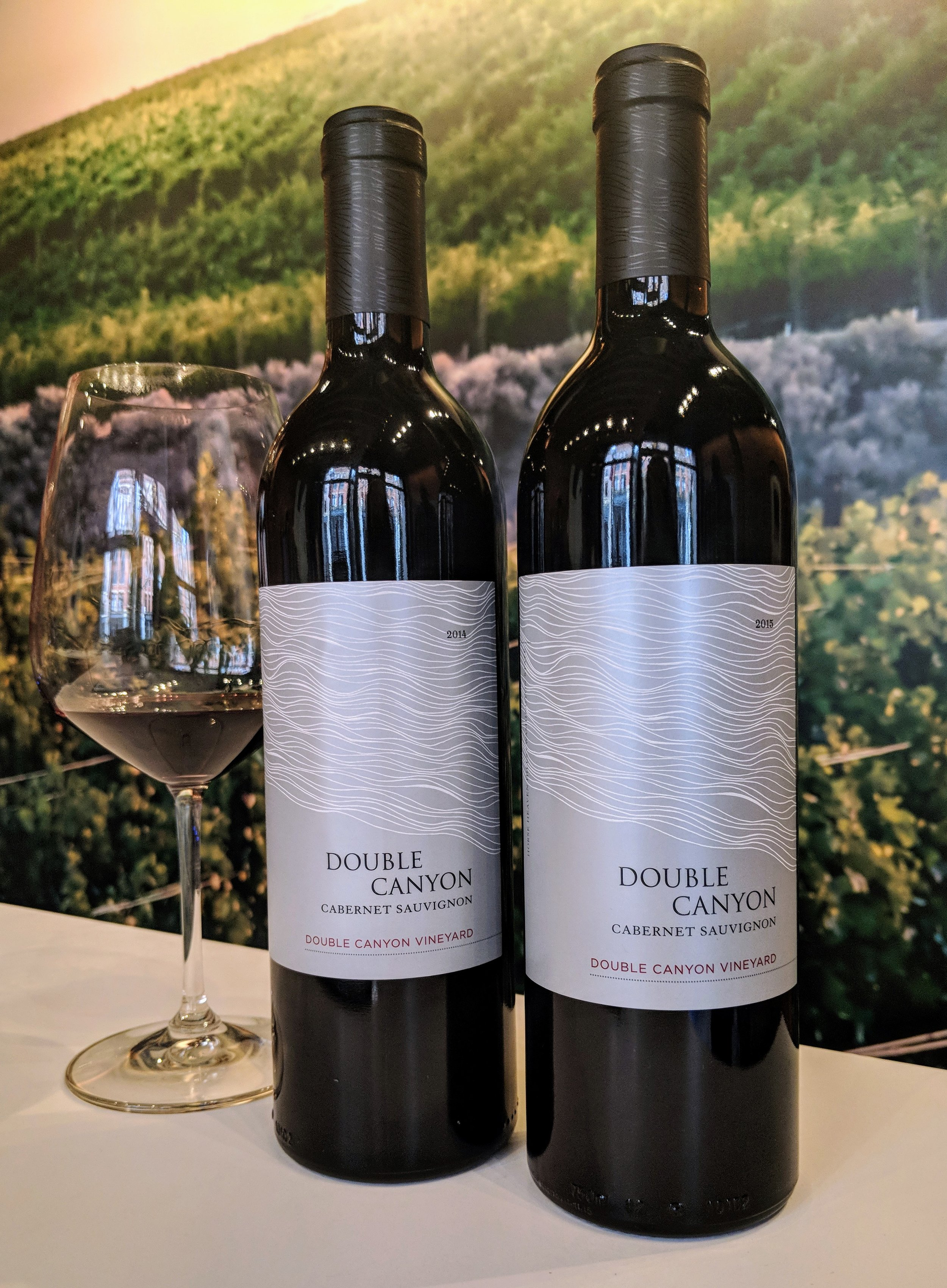 Double Canyon vineyards located in Horse Heaven Hills