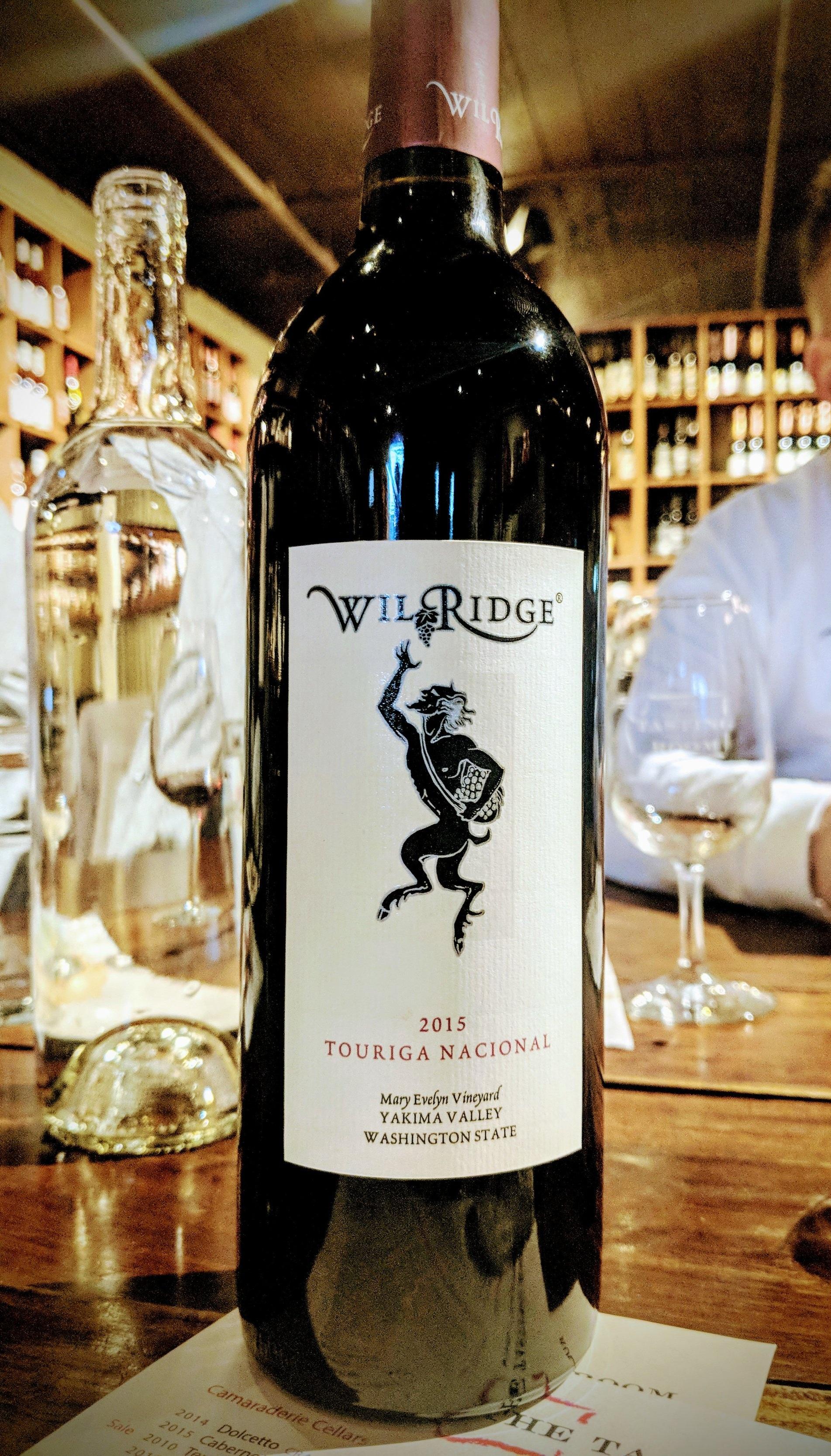 Wilridge Winery grown in the Yakima Valley