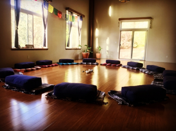 Yoga room at Sagrada Wellness