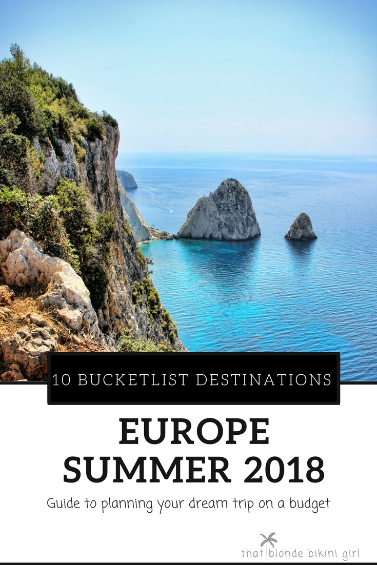 guide to planning a budget trip in Europe