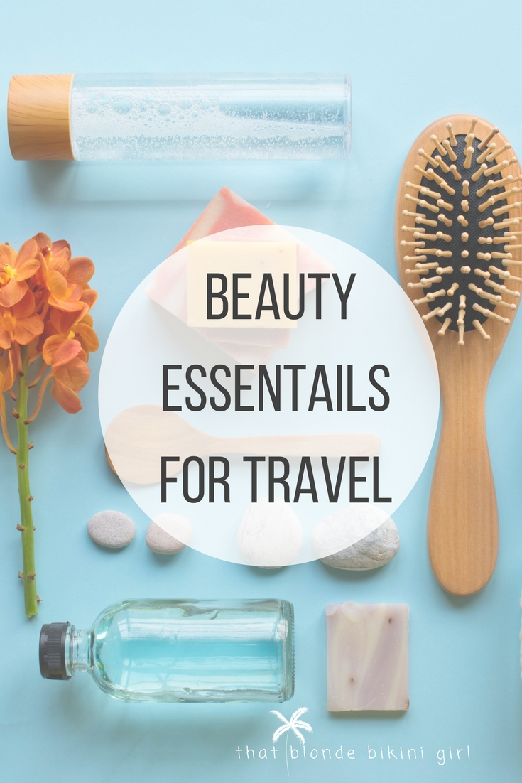beauty products for travel