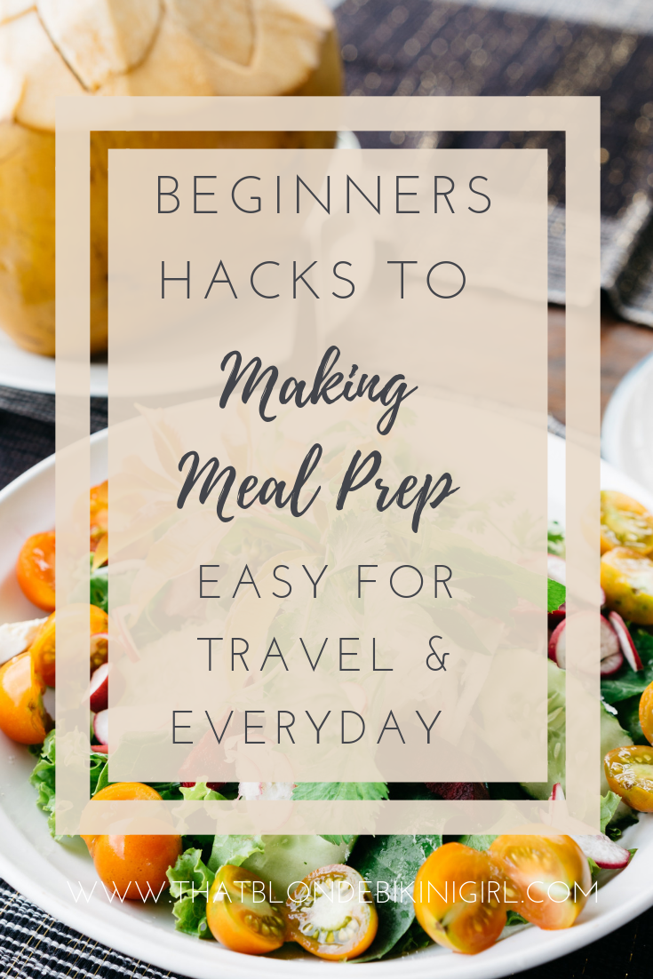 meal prep tips hacks for traveling How to meal prep during vacation