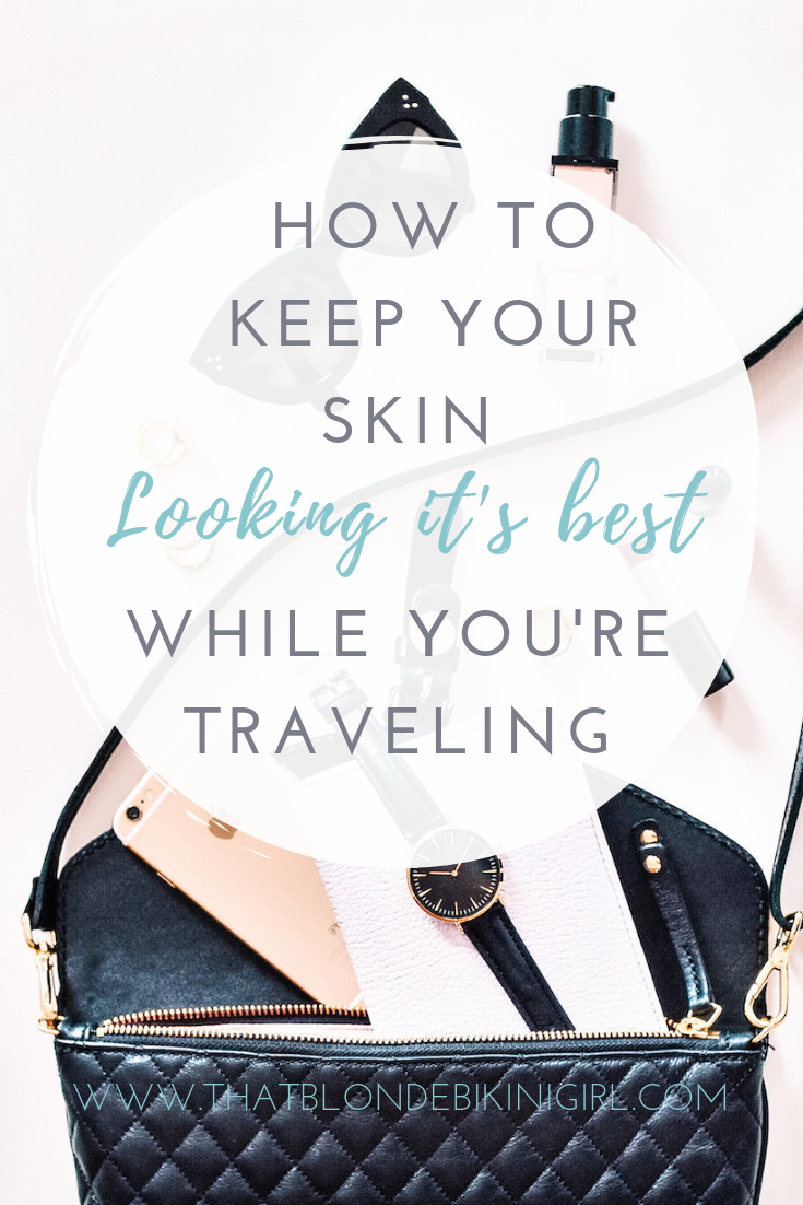 Ultimate cosmetic + skincare products for travel + everyday look
