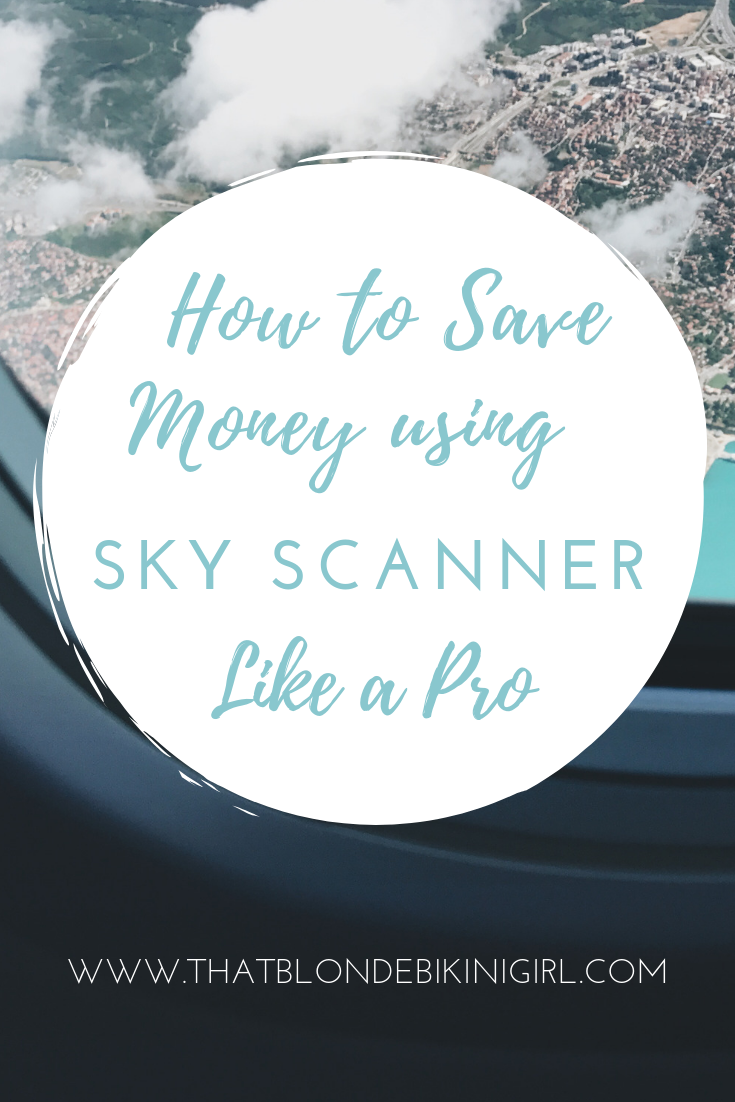 How to find cheap flights using sky scanner