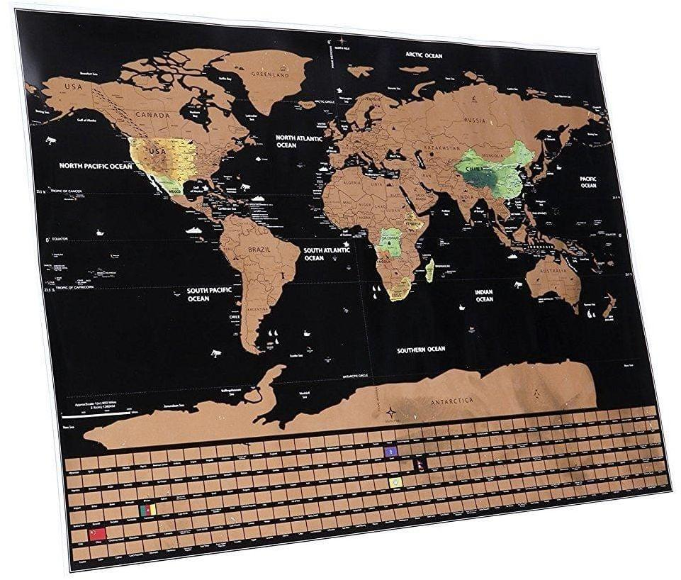 Free Scratch Map you just need to pay for shipping (it's not a joke, I have one!) -