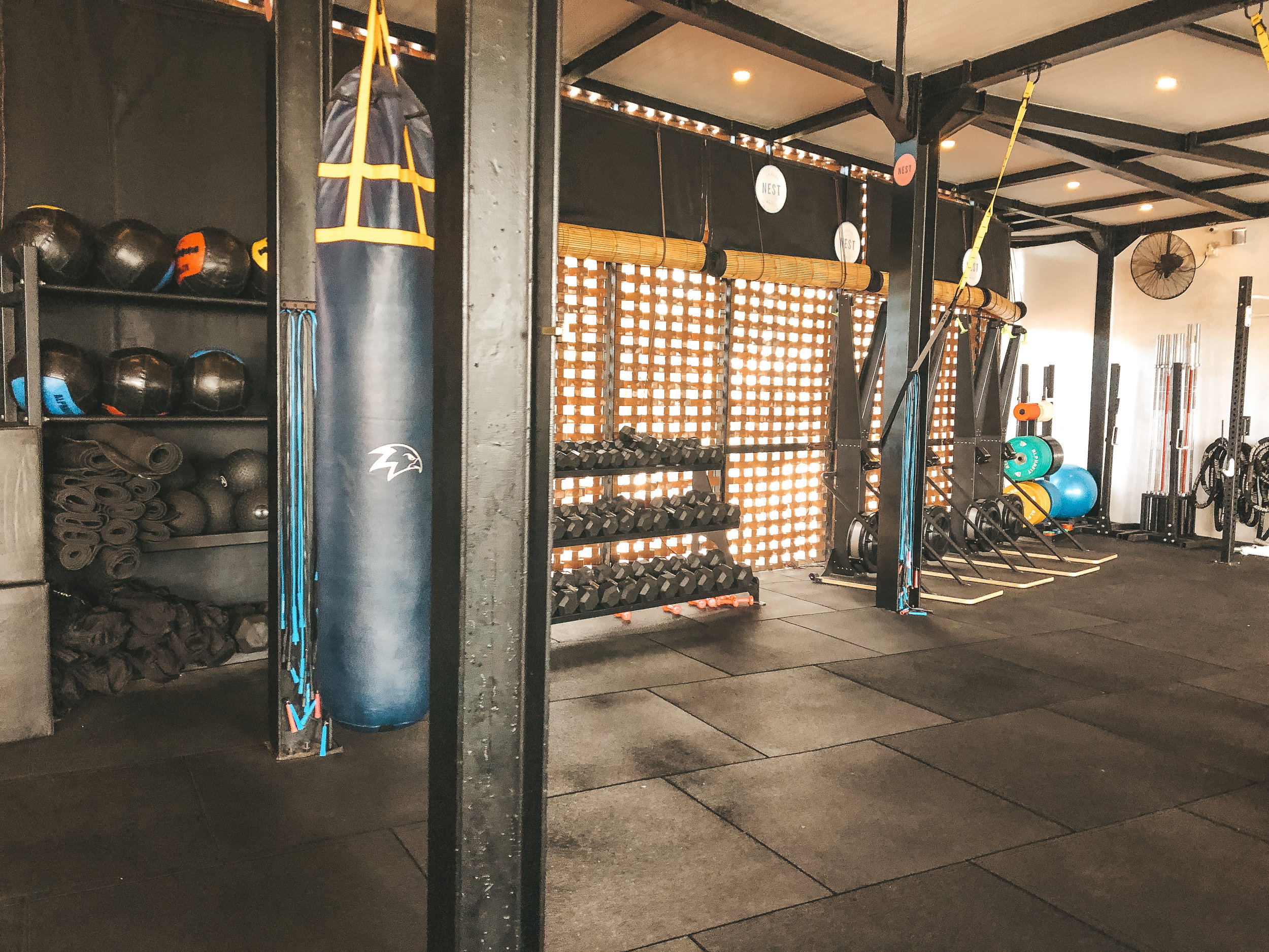 where to workout in Bali