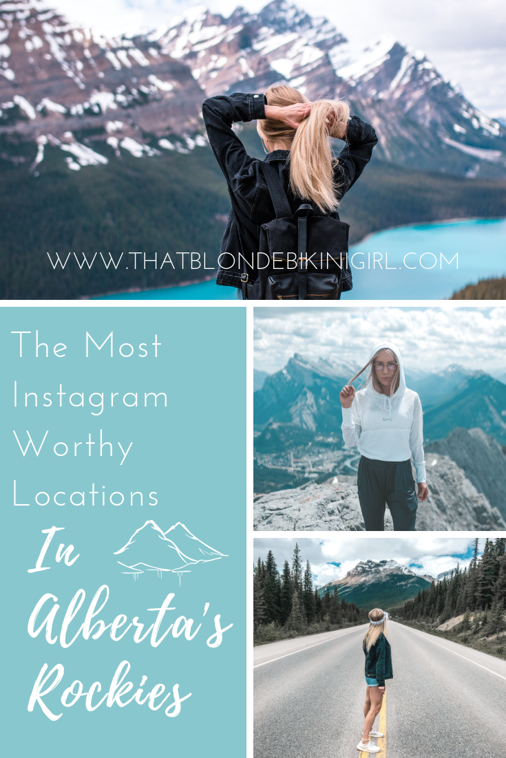 The most Instagram-worthy  locations in Alberta
