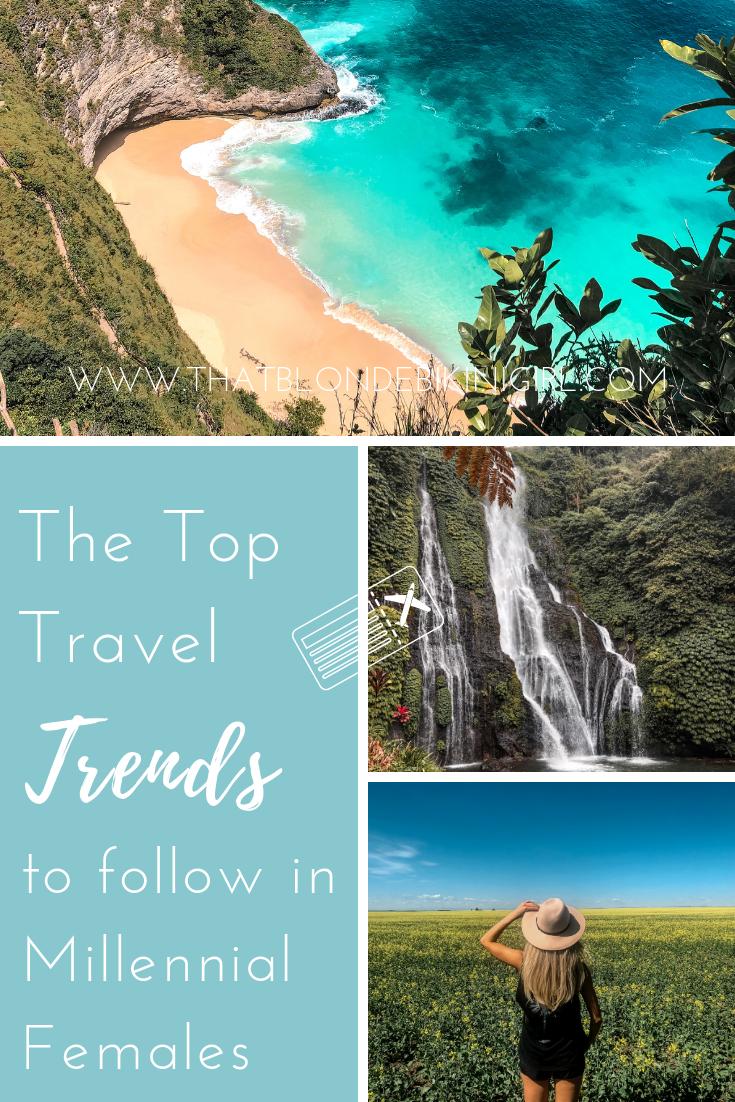 Top Travel Trends in women 2020
