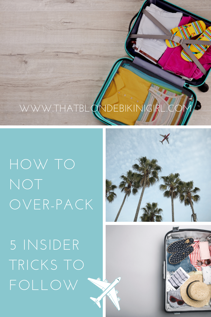 Track hacks for for not overpacking
