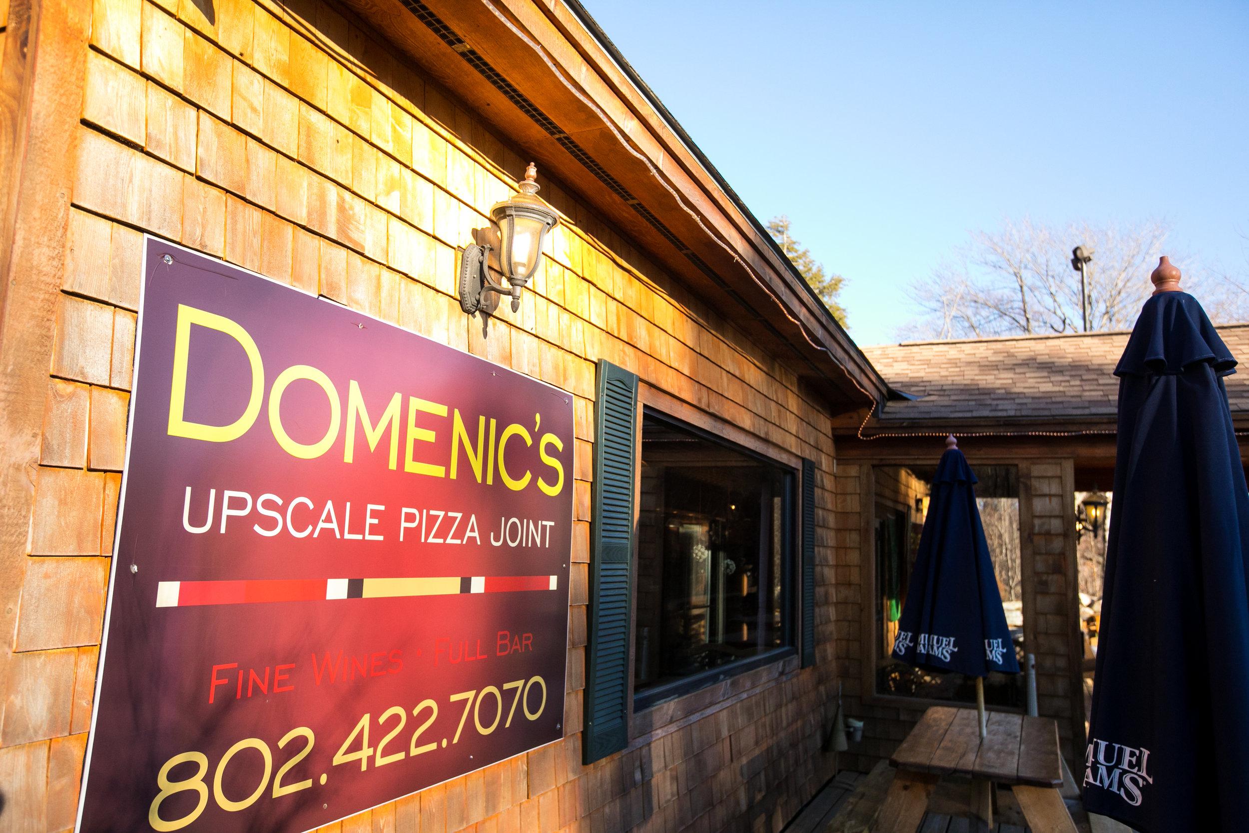 Domenic's Upscale Pizza Joint Killington, VT