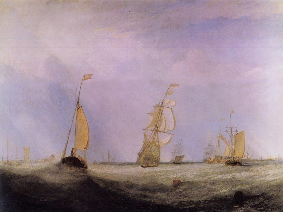 J.M.W. Turner,  Helvoetsluys,  ex. 1832