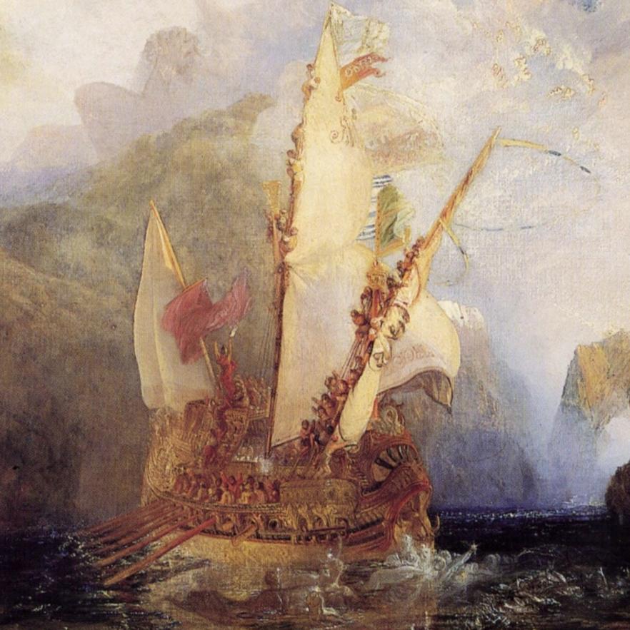 J.M.W. Turner, Ulysses Deriding Polyphemos, before 1830