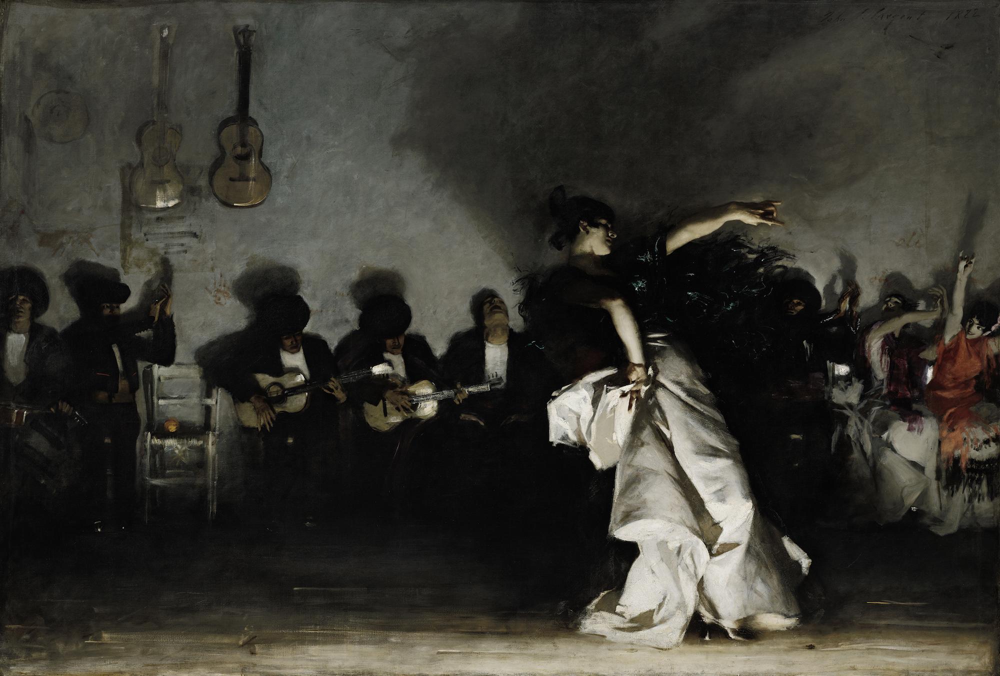 John Singer Sargent,  El Jaleo  (1882)