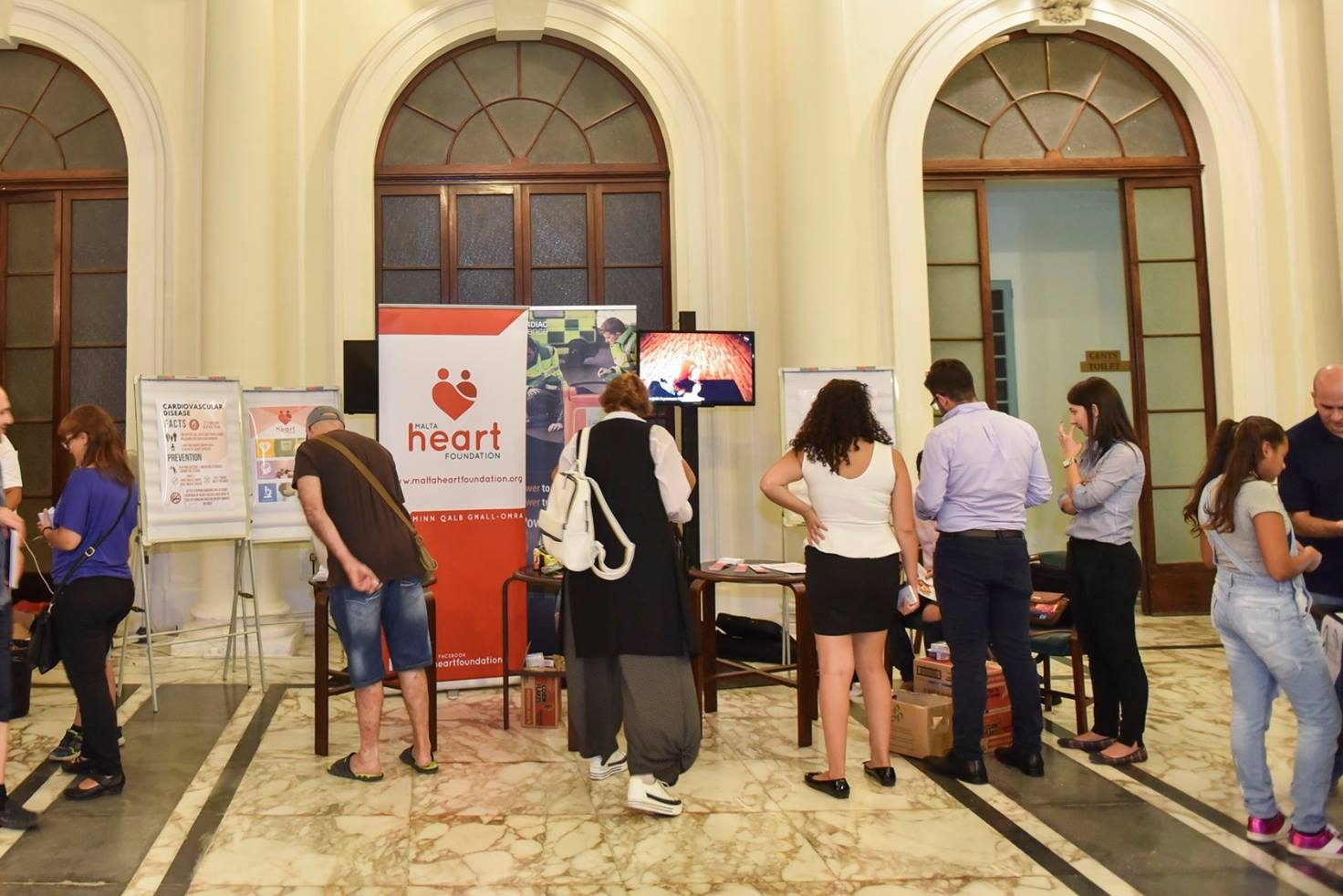 SCIENCE IN THE CITY   We are attending multiple public events in order to distribute information and make the general public more aware of heart related illnesses, highlighting key factors which increase the risk of acquiring a cardiac disease.