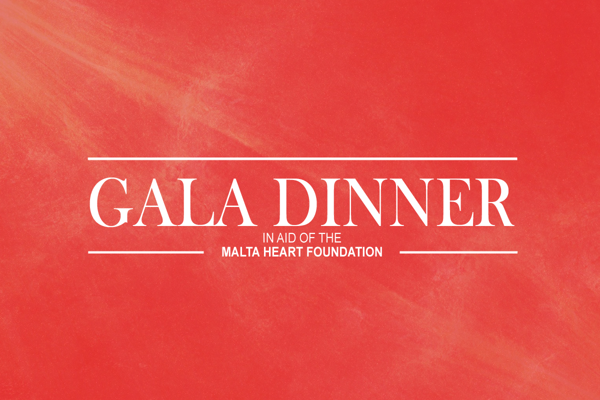 GALA DINNER 2017   The Malta Heart Foundation will be organising a Gala Dinner in order to collect funding for upcoming and ongoing projects. This will take place on the 25th of November.