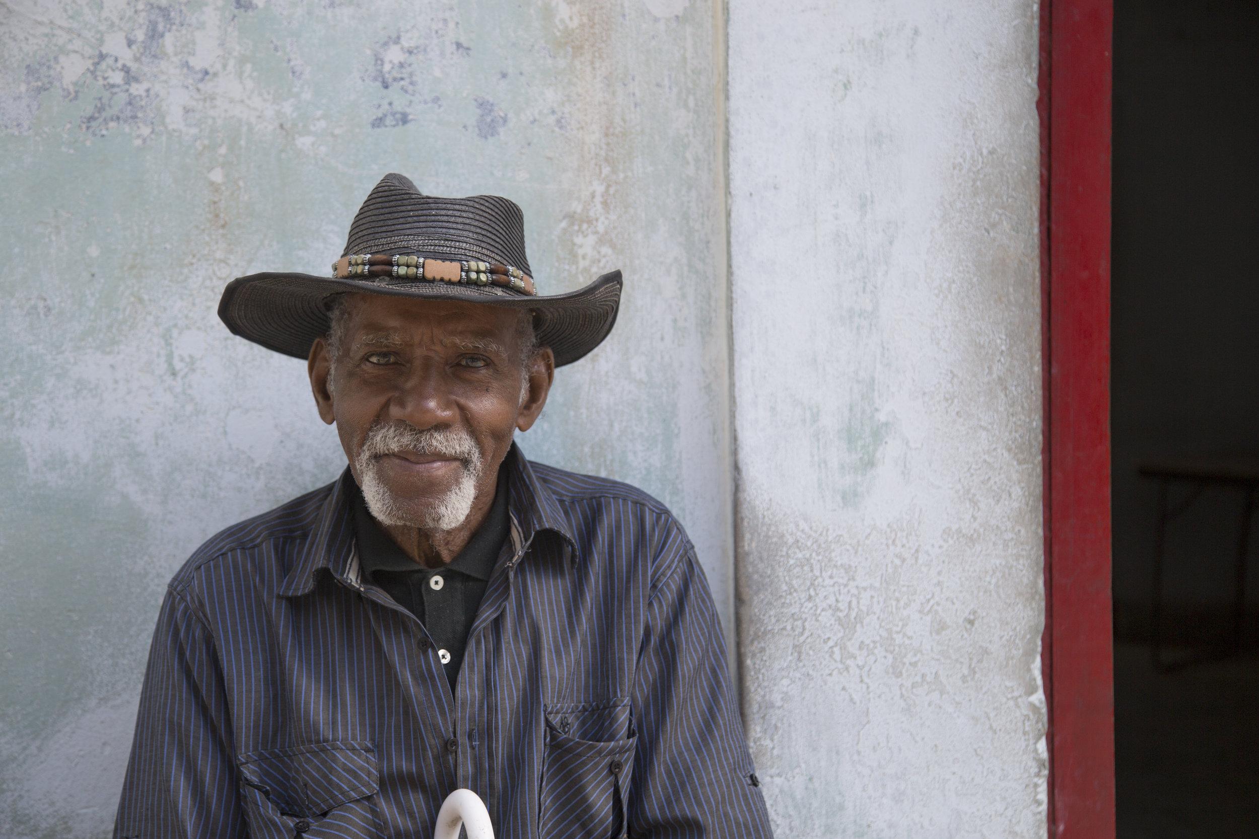 Peanut street vendor in Havana, Cuba