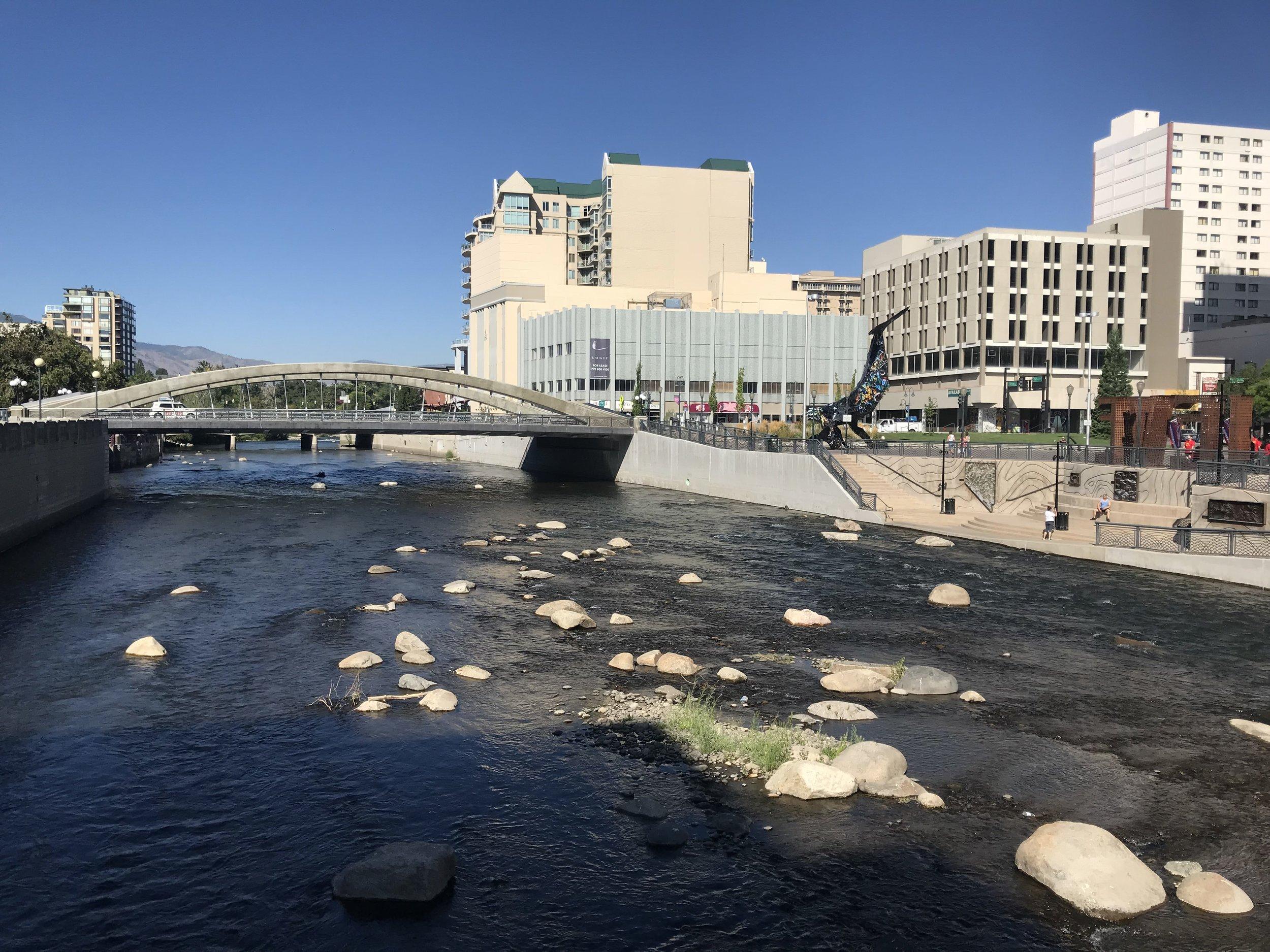 River walk in Reno, NV