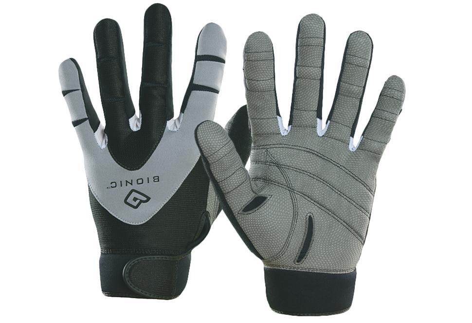 Personal training gloves worn by David Ellard