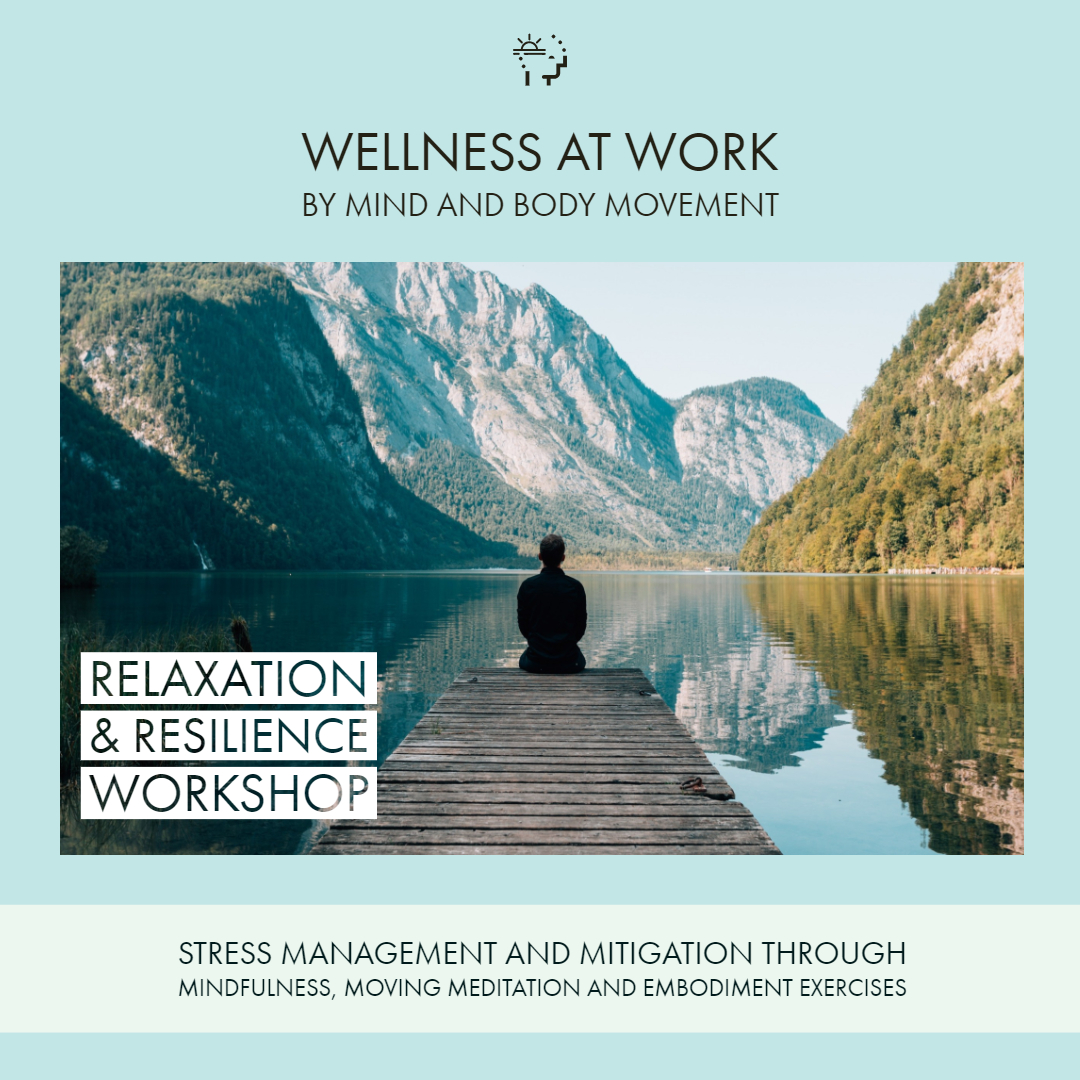 View and download the PDF Brochure for the Relaxation and Resilience Workshop -