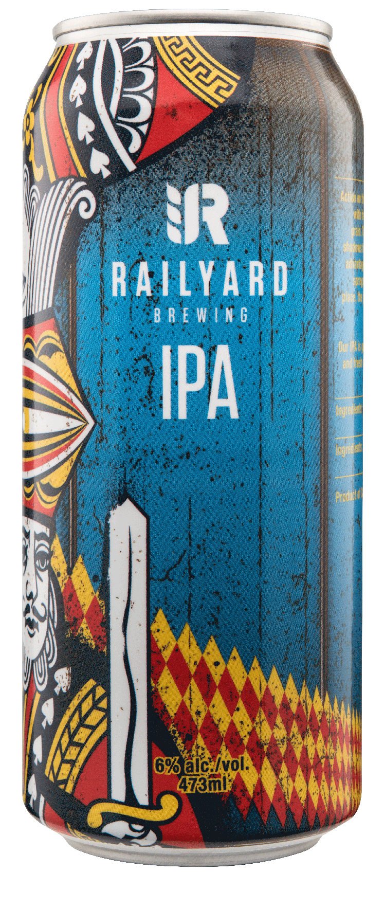 RAILYARD IPA   Travelling down the tracks from the West Coast comes the Railyard IPA. Stunning floral aromatics, classic orange peel & grapefruit citrus palate & finishes with a hint of pine. Balanced with caramel malt, pouring crystal clear & finishing clean as a train whistling rolling in. This is sure to satisfy.