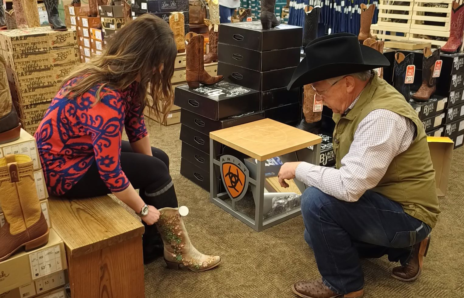 The Boot Store  KRF Member Since 2015