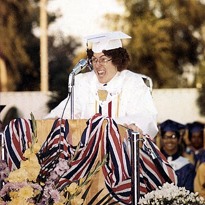 Al was of course valedictorian.Meanwhile, I squeaked in at 237th in the 1994 Mather graduating class