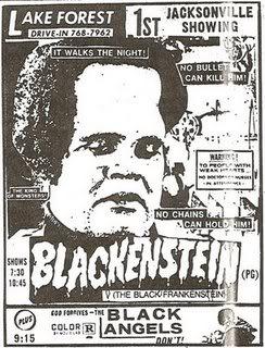Blackenstein did not have it easy