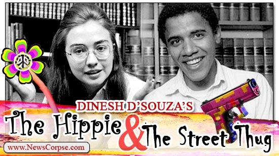 And yet D'Souza is the ex-con. Strange.