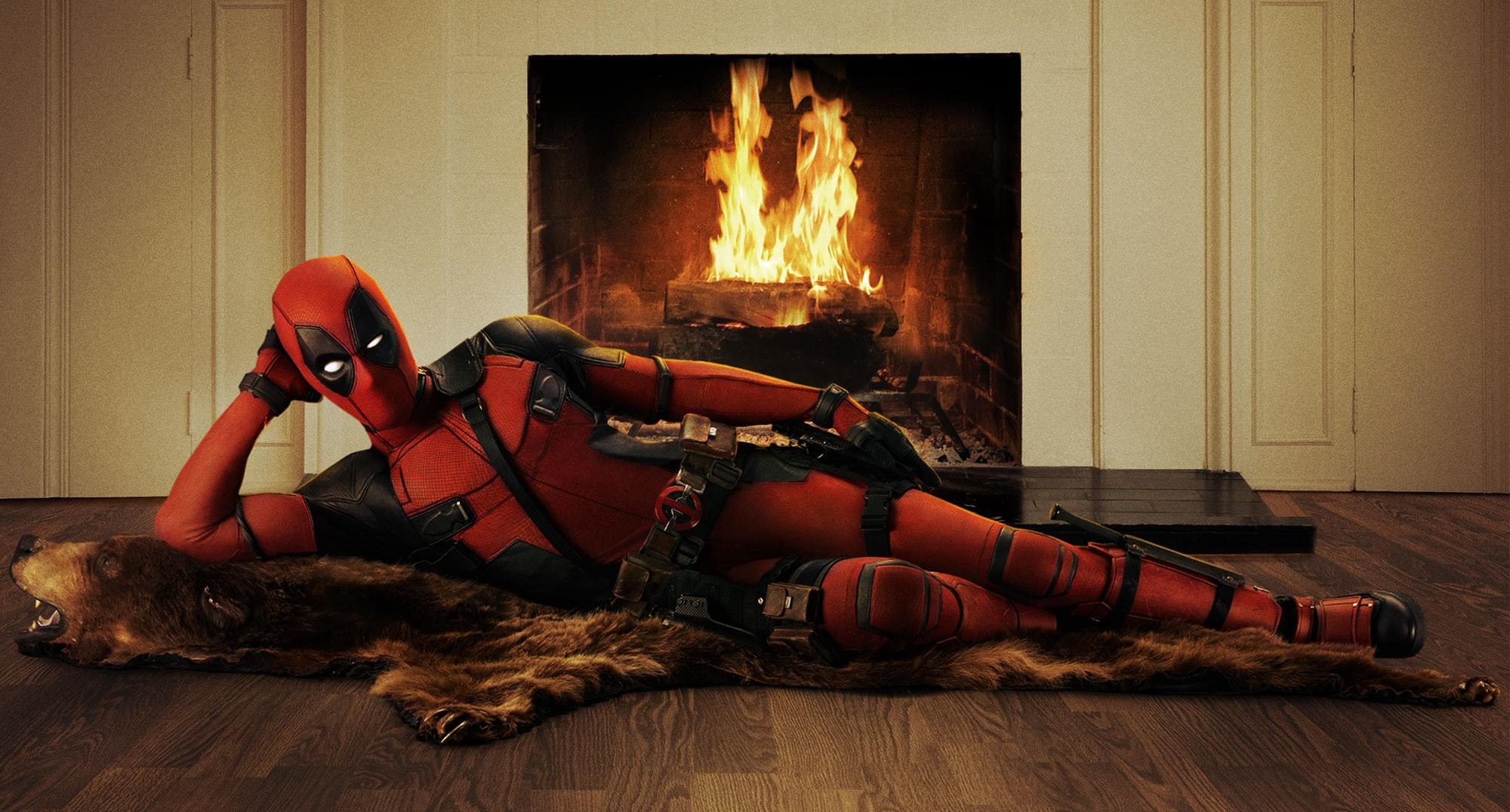 Deadpool, you a dead  fool  for this hilarious pose!