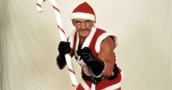 Hulk introduces his beloved new character, biker stripper Santa