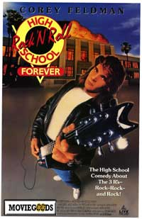 Corey Feldman apparently morphed into Patrick Swayze just before this poster was made!