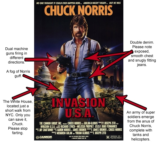 So apparently there are some factual errors on the film's poster