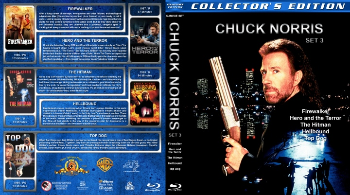 Oh sure, I've now finished ONE Chuck Norris box set, but look, there are so many more!
